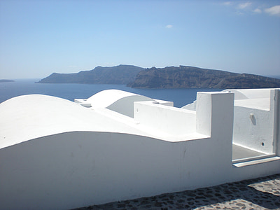 Santorini, Grčki otok, Grčka, marinac, Oia