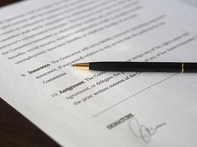 kinh doanh, chữ ký, hợp đồng, tài liệu, thỏa thuận, thủ tục giấy tờ, bàn tay