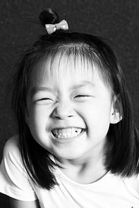 χαμόγελο, Άγγελος, κορίτσια, το παιδί, έξι μία