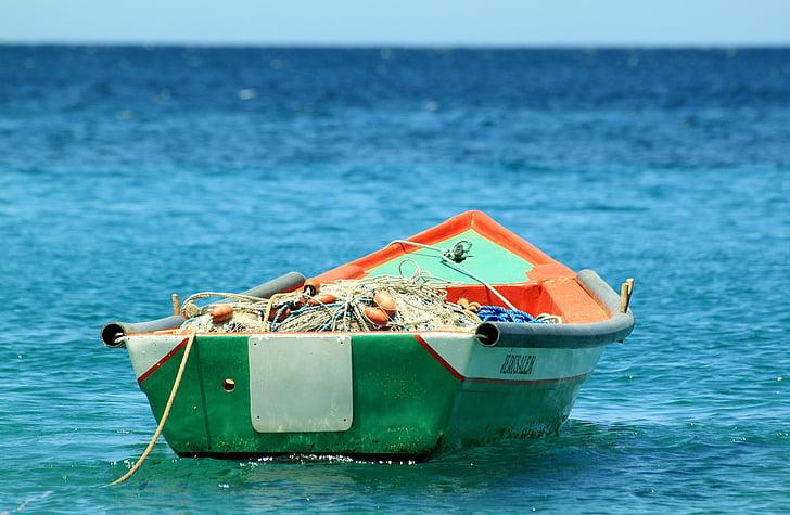 båt, fiske, Tropic, Ocean, havet, nautiska fartyg, sommar