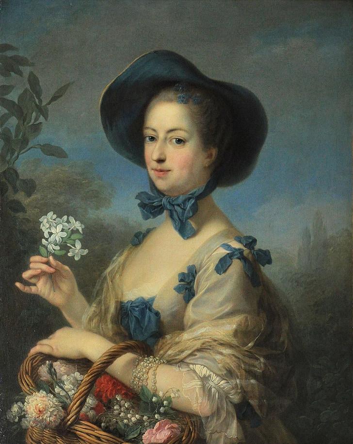 Charles van Loo educar, Retrat, pintura, oli sobre tela, Art, artística, l'art