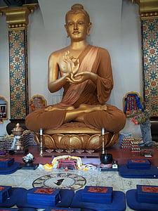 Buddha, buddhistický, Buddhismus, náboženství, socha, chrám, kultura