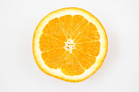 Orange, frukt, vitaminer, citron, hälften, citrusfrukter, mat