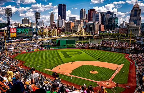 Parc de la PNC, Pittsburgh, Pennsilvània, ciutat, Ciutats, urbà, edificis