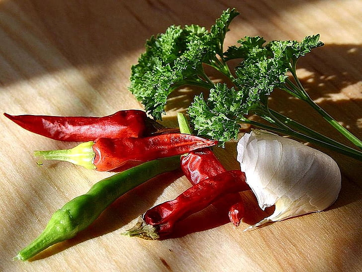 julivert, All, pebrots, Xile, pebrots, verdures, plantes