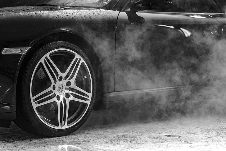 garaaž, autopesu, auto, suitsu, Steam, vee, Luxury