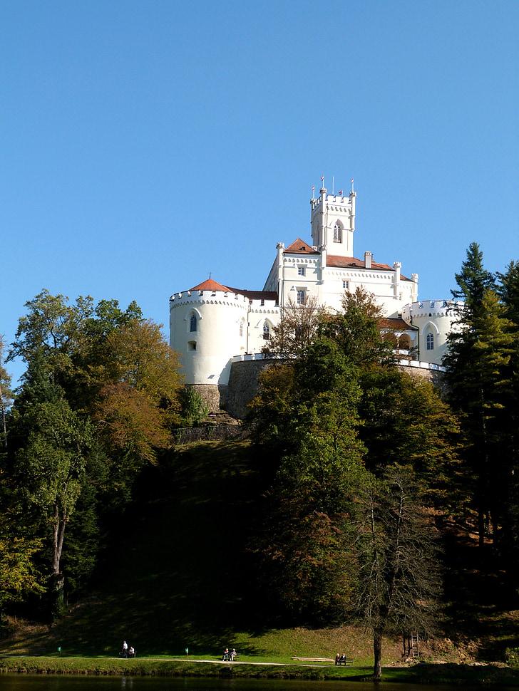 trakoscan, Замок, атракціон, краєвид, Хорватія