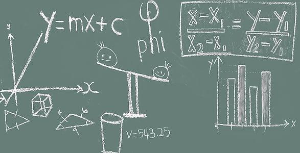 math, blackboard, education, classroom, chalkboard, chalk, learning