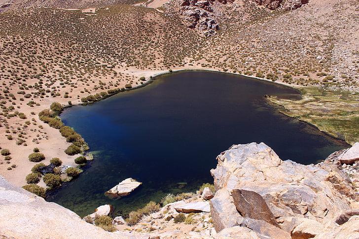 montanha, Chile, Vale, Cochiguaz, natureza, paisagem, scenics