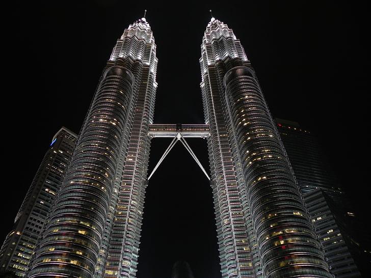 malaysia, kuala, lumpur, city, petronas, architecture, travel