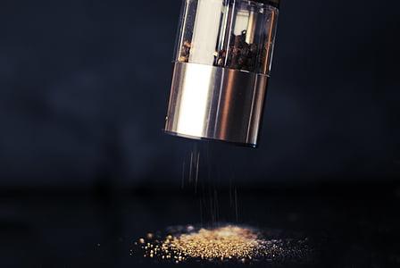 mlinac, papar, hrana, mlin, začin, začin, svježe