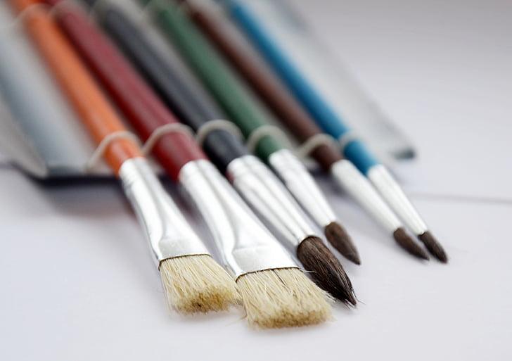 raspall, dibuix, aquarel·la, conjunt, Art, variació, no hi ha persones