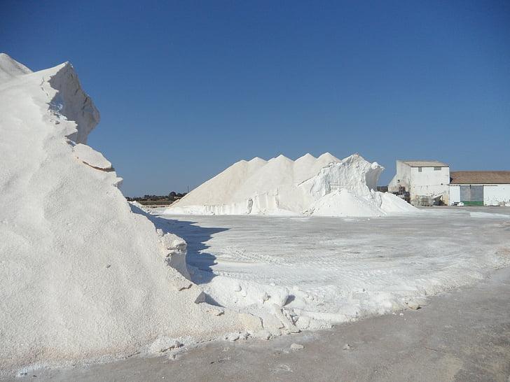 сіль, salzberg, сіль гора, білий, сіль каструлі, Морська сіль, промисловість