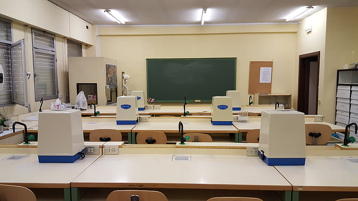 lab, classroom, school, study, class, slate, room