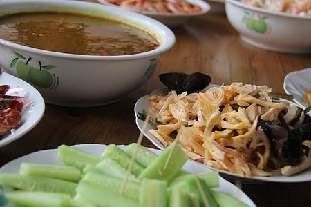 plats, deliciós, Partit, aliments, àpat, sopar, dinar