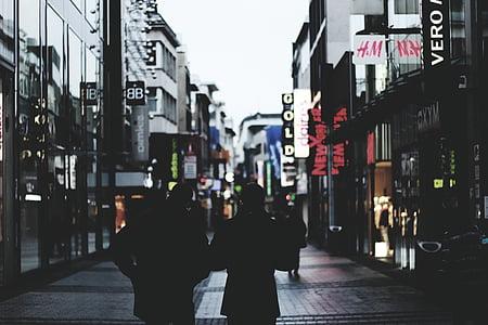 people, walking, shopping, stores, retail, marketing, sales