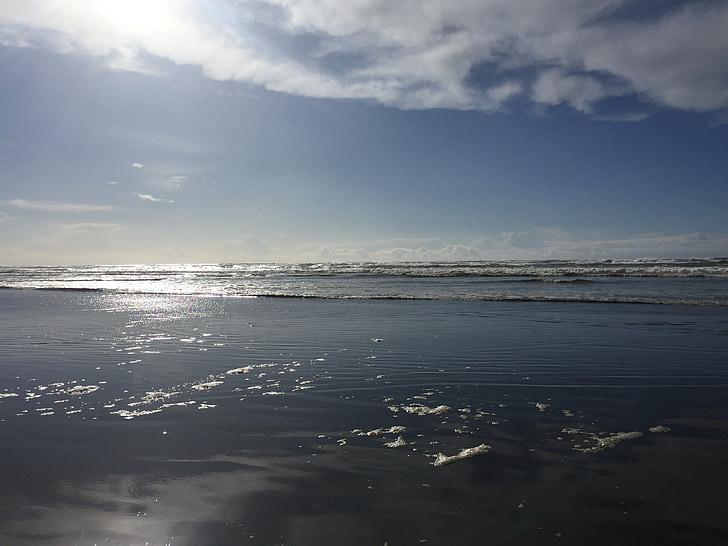 Playa, Océano, Pacífico, Costa, agua, naturaleza