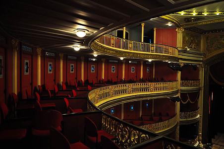 audience, theatre, santa, isabel, recife, pernabuco, chair
