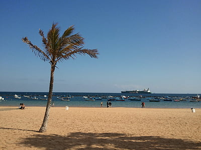 Beach, Kanariansaaret, Playa, kaunis ranta, hiekkaranta, Sea, Holiday