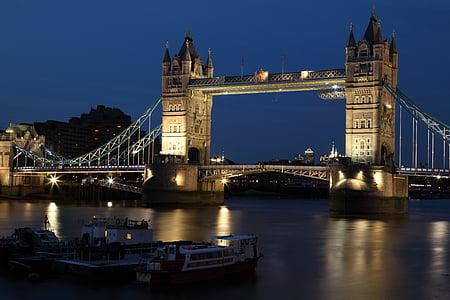 architecture, building, city, dark, dusk, england, famous