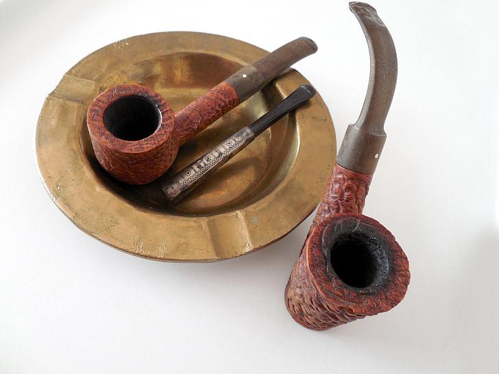 pijp, fluitje, roken, tabak, mondstuk, ontspannen, relaxen