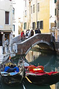 เวนิส, อิตาลี, กระเช้าลอยฟ้า, ช่อง, เรือ, เรือ, สี