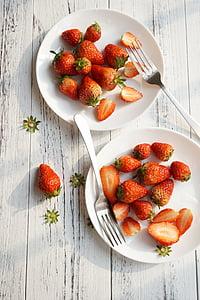 kosilo, sadje, jagoda, hrano in pijačo, Studio ustrelil, zdravega prehranjevanja, svežina