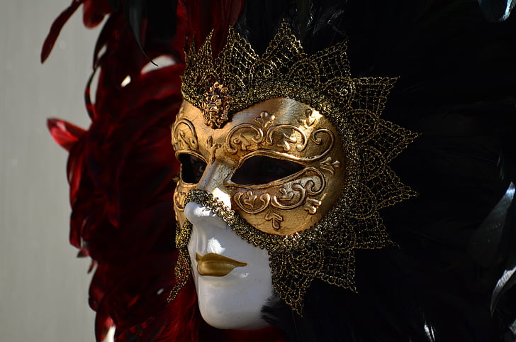schwäbisch hall, hallia venezia, costume, figure, carnival, venezia, mask