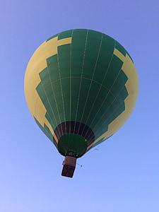 luftballong, ballong, Sky, färgglada, flyg, Float, korg