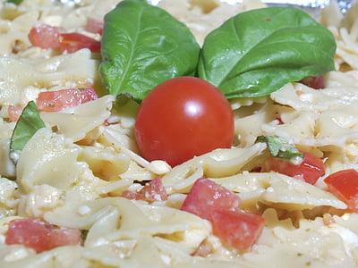 パスタ, イタリア料理, バジル, 自家製, イタリア, キッチン, ベジタリアン