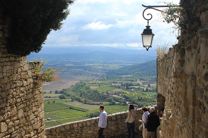Gordes, Provença, França, paisatge