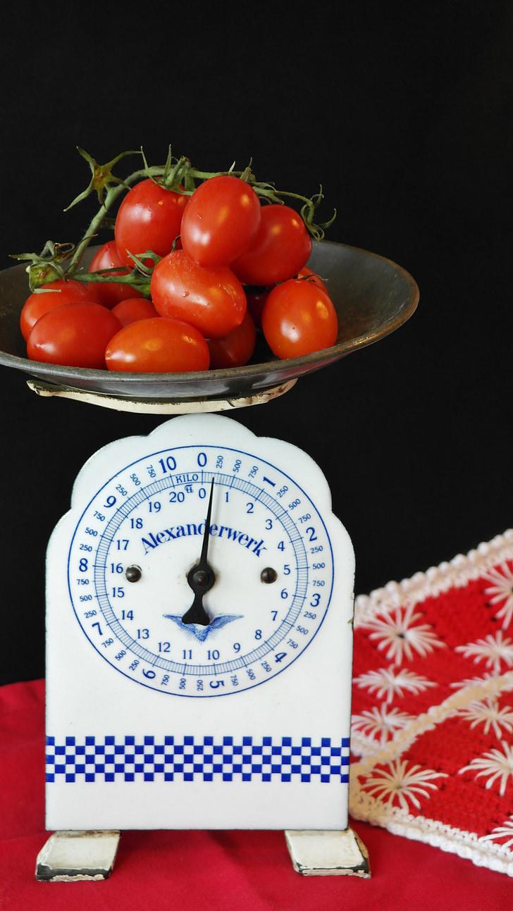 tomàquet, vermell, Sa, Frisch, Amanida, aliments, verdures
