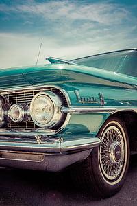 vehicle, head, light, bumper, vintage, wheel, windshield