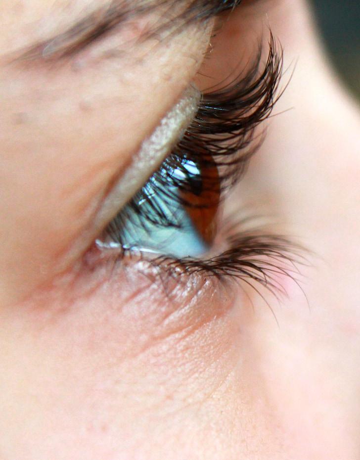 eye, eyelashes, face, pupil, woman