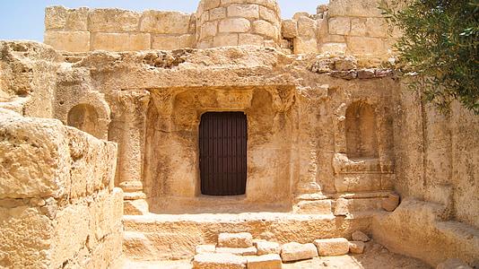 landskap, Amman, Jordanien, hus, staden, byggnad, turism