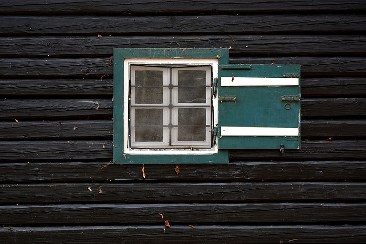 window, wood, wooden wall, wooden windows, structure, hauswand, facade