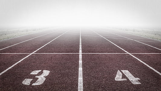 esport, cinta de córrer, Tor, Ruta, sender, manera, Speedway