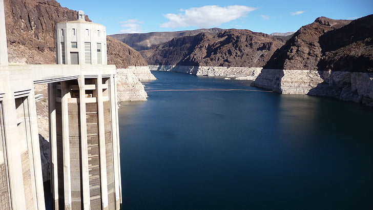 Dam, nước, Nevada, sông, Hoa Kỳ, nhà máy thủy điện, năng lượng