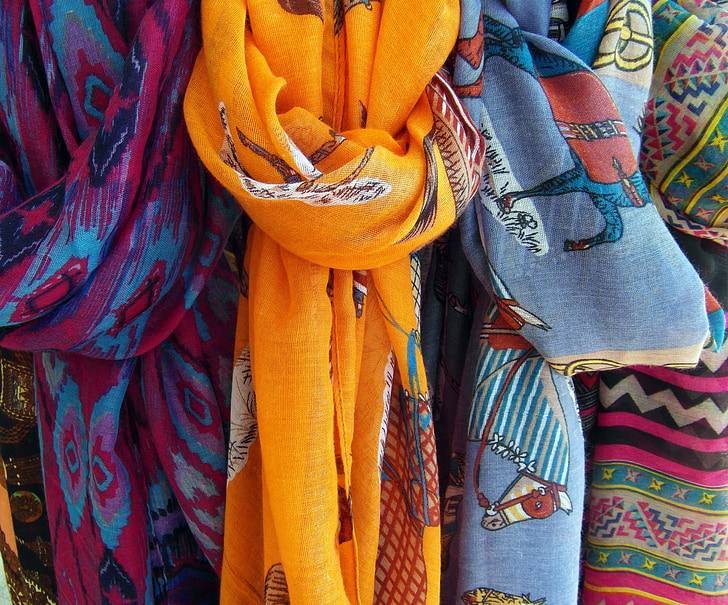 törölköző, színes, szín, Knot