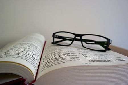 book, document, education, eyeglasses, facts, ideas, knowledge