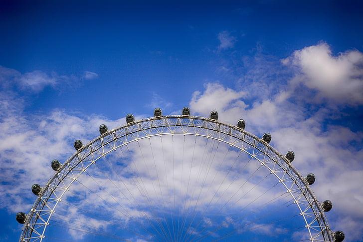 london, ferris wheel, landmark, united kingdom