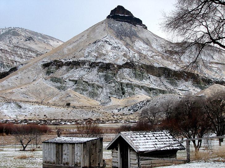 Schaf-rock, John Day Fossil Betten, nationales Denkmal, Ost-oregon, USA, John day, Landschaft