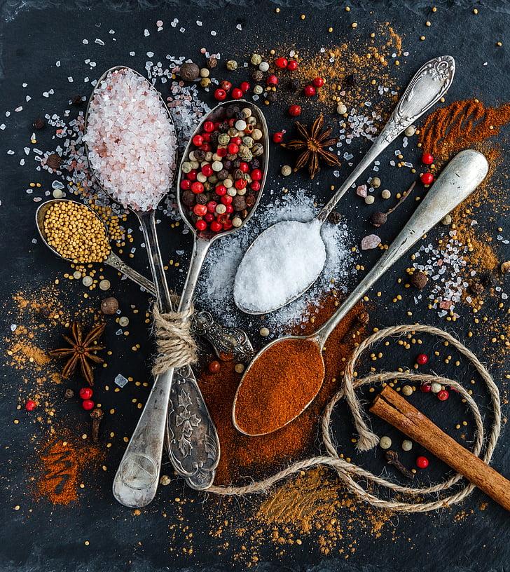 specerijen, kaneelstokjes, geur, aroma, steranijs, tandwielen, Anijs