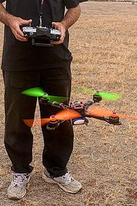 quadcopter, abellot, control remot, multi rotor, robot, volant, no tripulats