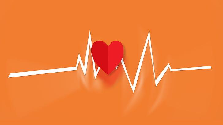 cor, batre, batec del cor, batec del cor, d'emergència, pols, mèdica