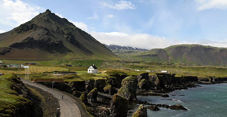 iceland, nature, landscape, countryside, outdoor, mountain, scenics