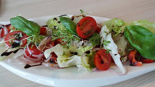 샐러드, 혼합, 토마토, 혼합된 샐러드, 건강 한, 비타민, 음식