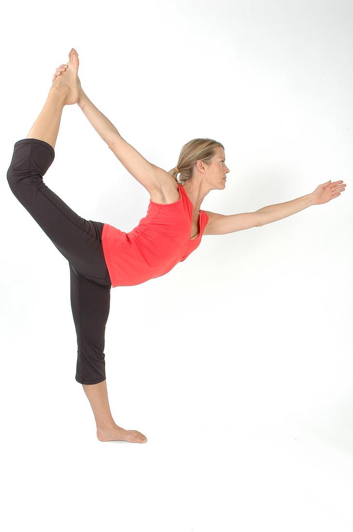 joga, rada, Pilates, sievietes, sieviete, fitnesa, treniņa