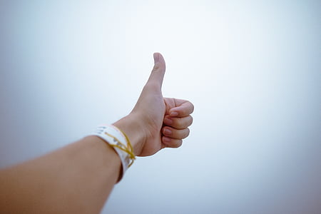 fingers, gesture, hand, thumbs up, human hand, human body part, agreement