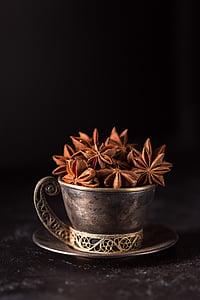 aniisi, tähtaniisi, seemned, vürtsid, lõhn, Hammasrattad, maitseained
